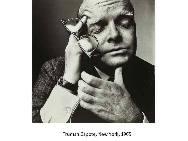 Truman Capote, New York, 1965