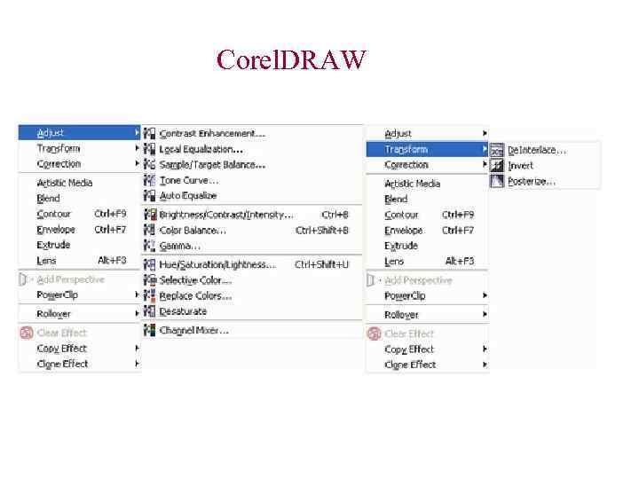 Corel. DRAW