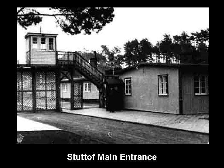 Stuttof Main Entrance