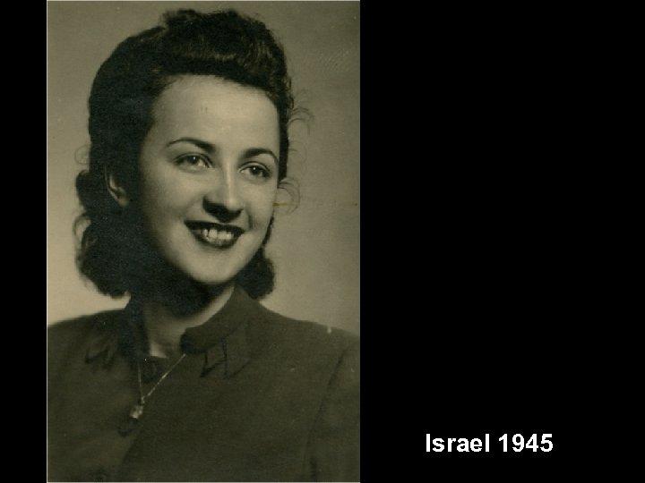 Israel 1945