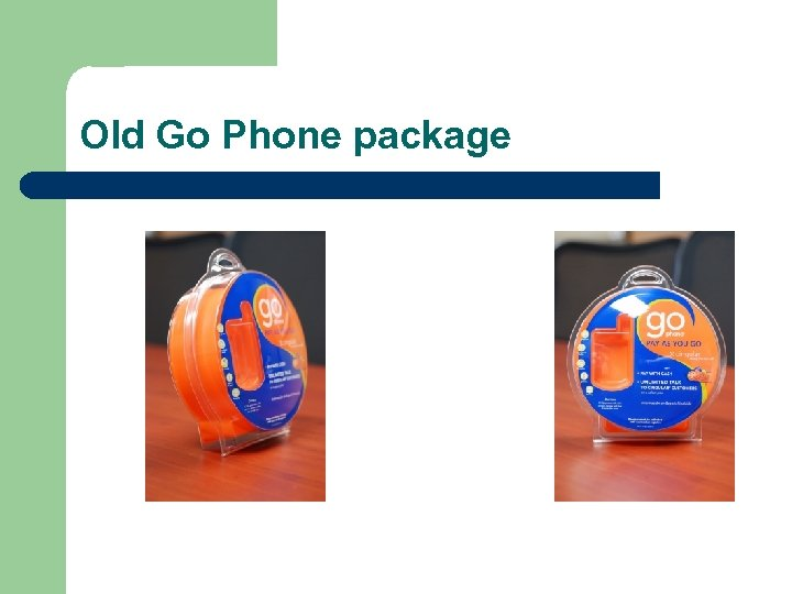 Old Go Phone package