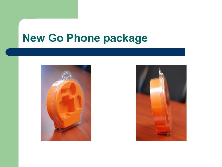 New Go Phone package