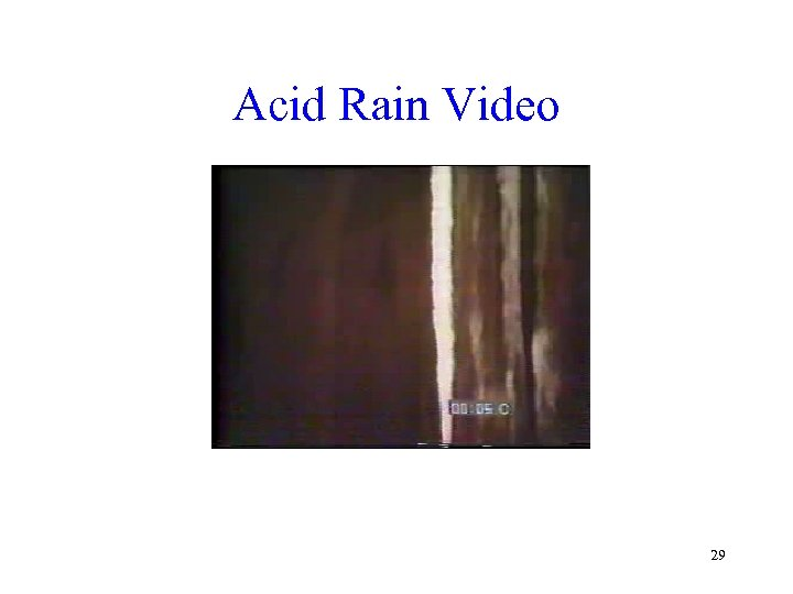 Acid Rain Video 29