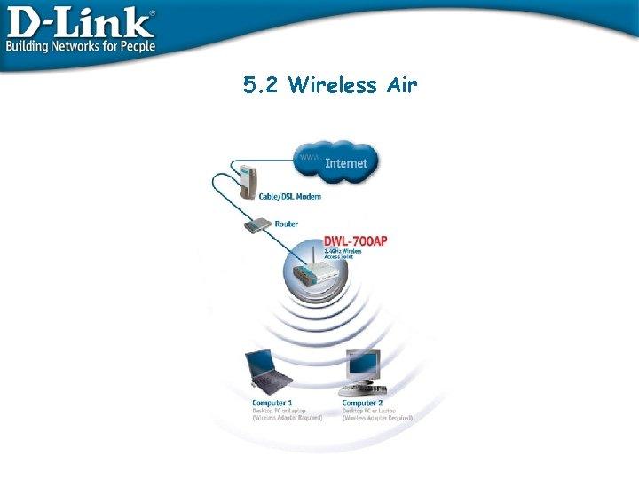 5. 2 Wireless Air