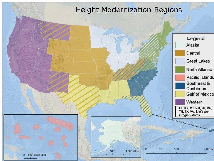 Height Modernization Regions