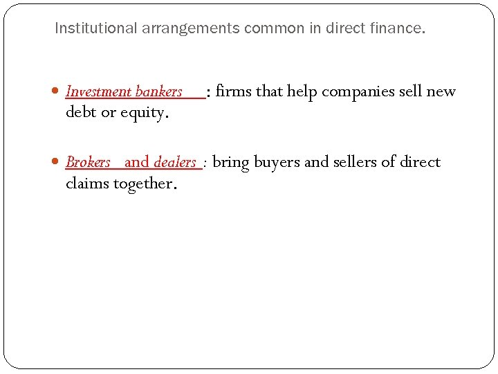 chapter 1 an overview of financial markets Chapter 2 financial markets and institutions 25 terms chapter 1: overview of financial management.