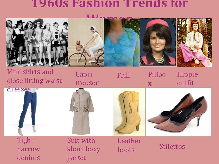 1960 s Fashion Trends for Women Mini skirts and close fitting waist dresses Tight