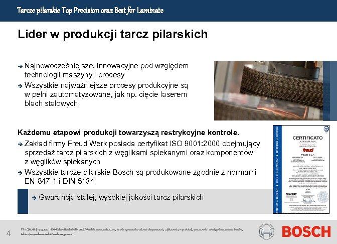 Tarcze pilarskie Top Precision oraz Best for Laminate Lider w produkcji tarcz pilarskich Najnowocześniejsze,