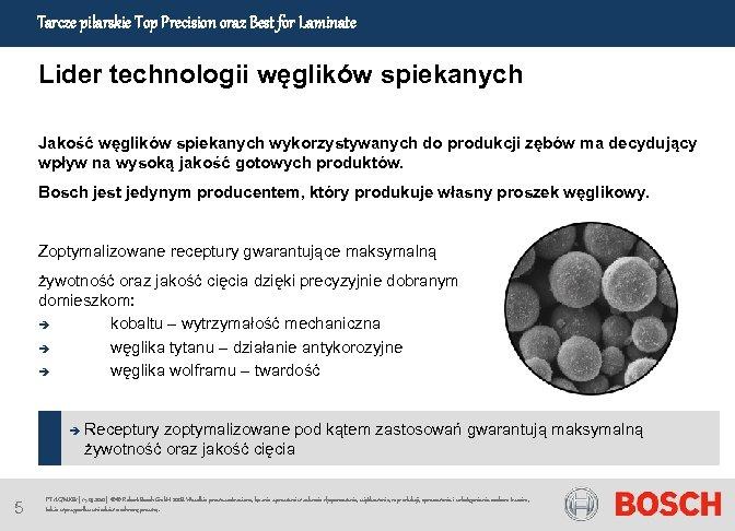 Tarcze pilarskie Top Precision oraz Best for Laminate Lider technologii węglików spiekanych Jakość węglików