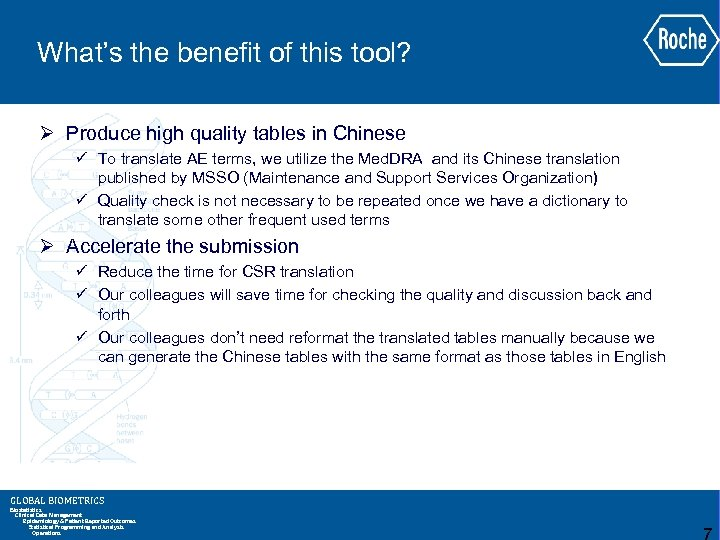 What's the benefit of this tool? Ø Produce high quality tables in Chinese ü