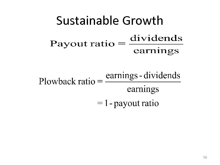 Sustainable Growth 56