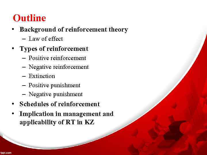 reinforcement theory in management