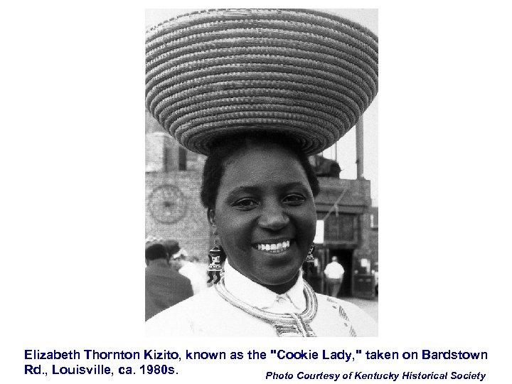 Elizabeth Thornton Kizito, known as the