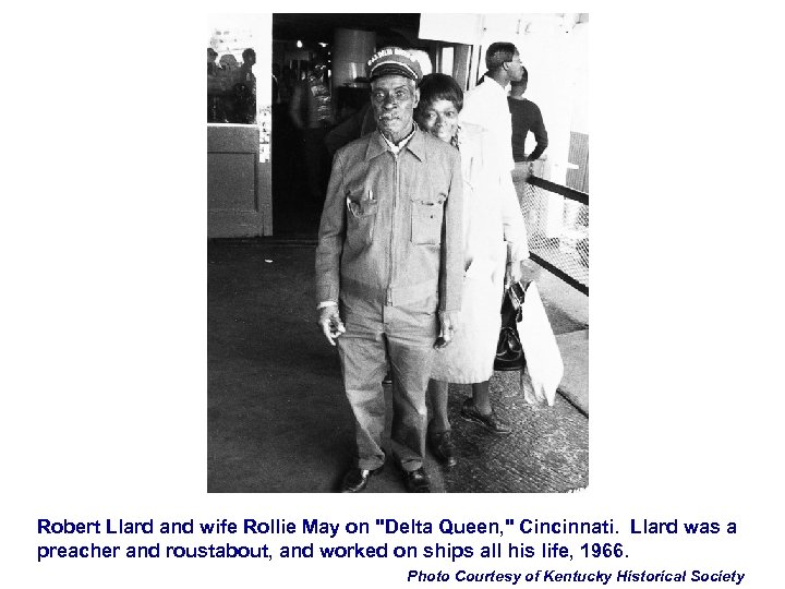 Robert Llard and wife Rollie May on