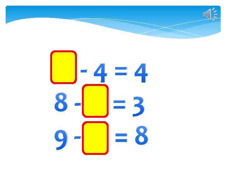 8 -4=4 8 -5 =3 9 -1 =8