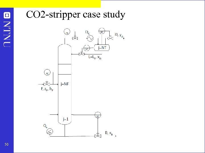 CO 2 -stripper case study 50