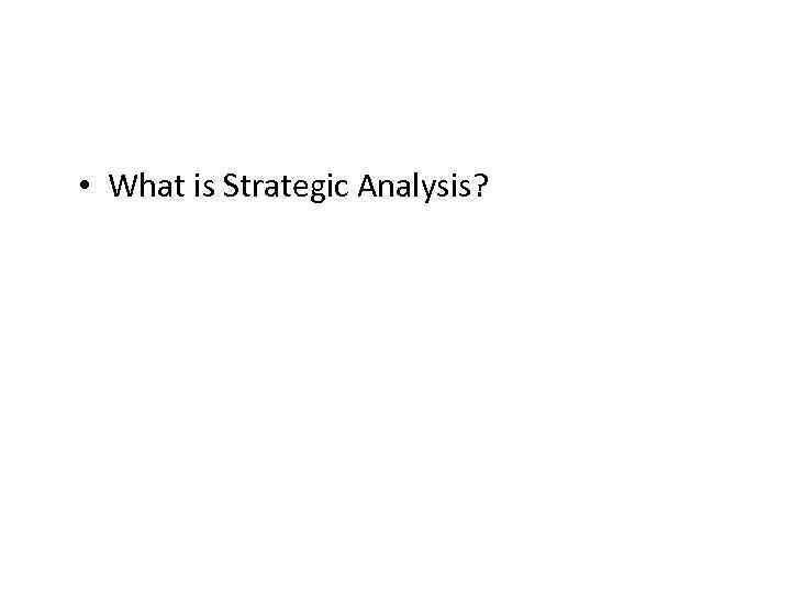 strategic analysis of itunes Strategic analysis of netflix this is an analysis of netflix's risks and what they can do to improve their position this is an analysis of the threats facing netflix using the porter's five forces framework as a guide.