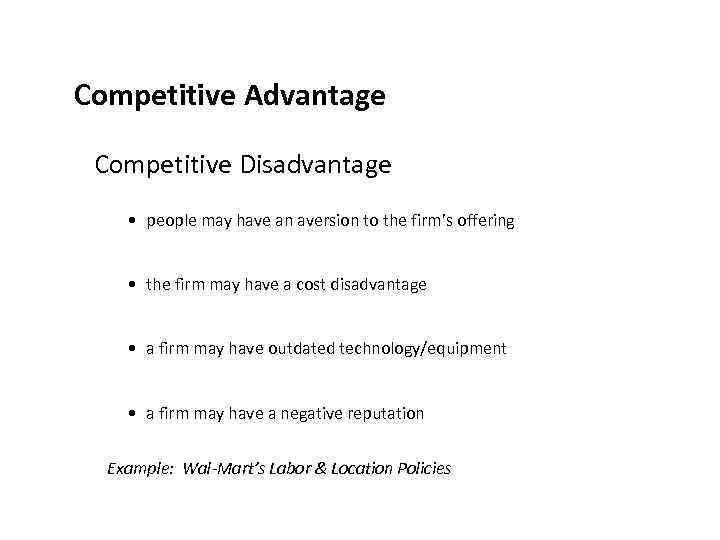 the competitive advantage that telecommunications technology can do to a firm Competitive advantage in technology intensive industries 205 advantage on both levels, with higher perceived value created than firm a, with, at the same time, lower costs to produce the good or service.