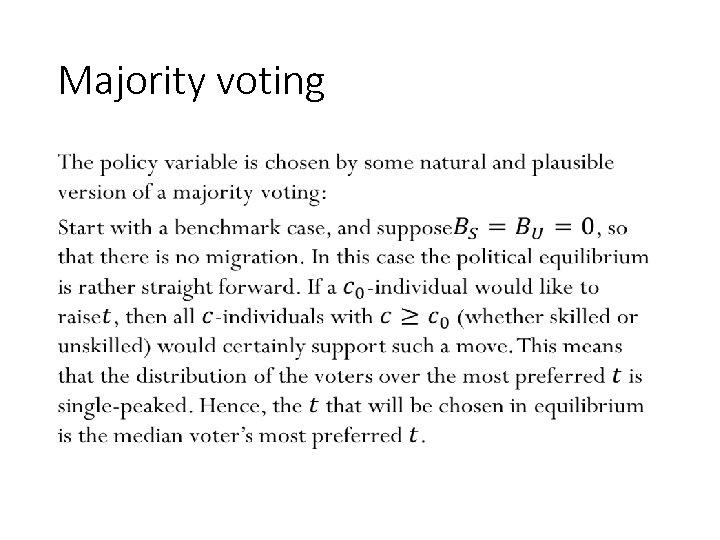 Majority voting • 132