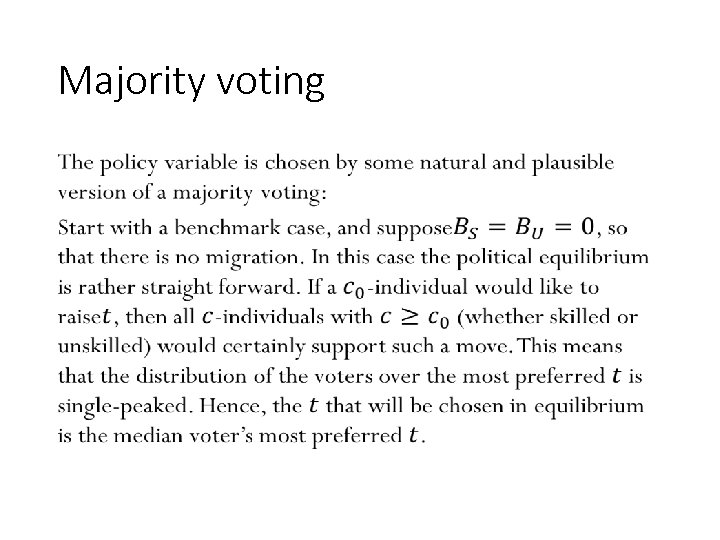 Majority voting • 94