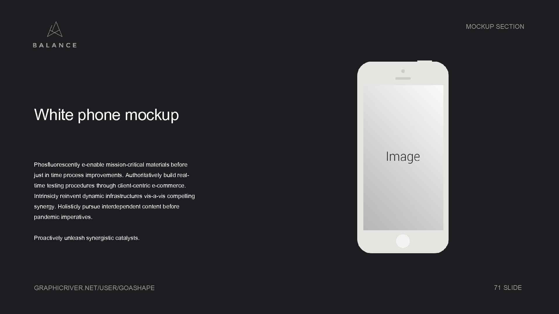 MOCKUP SECTION White phone mockup Phosfluorescently e-enable mission-critical materials before just in time process