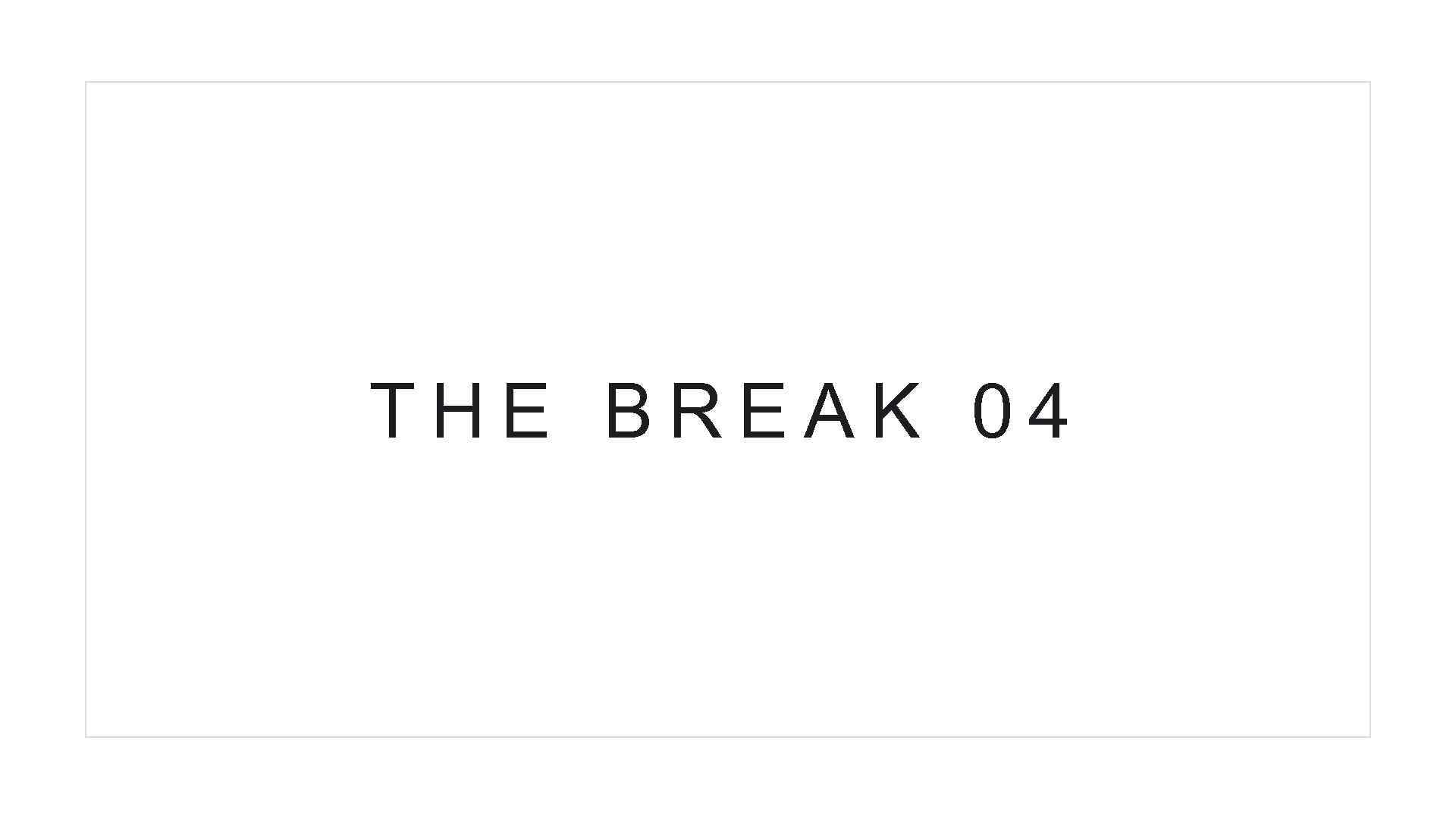 THE BREAK 04