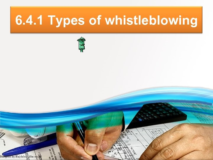 6. 4. 1 Types of whistleblowing