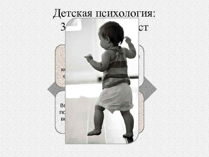 Детская психология: 3. Ранний возраст Ребенок связан с конкретной ситуацией Мышление и память еще