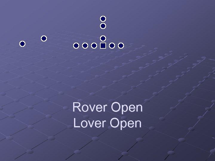 Rover Open Lover Open