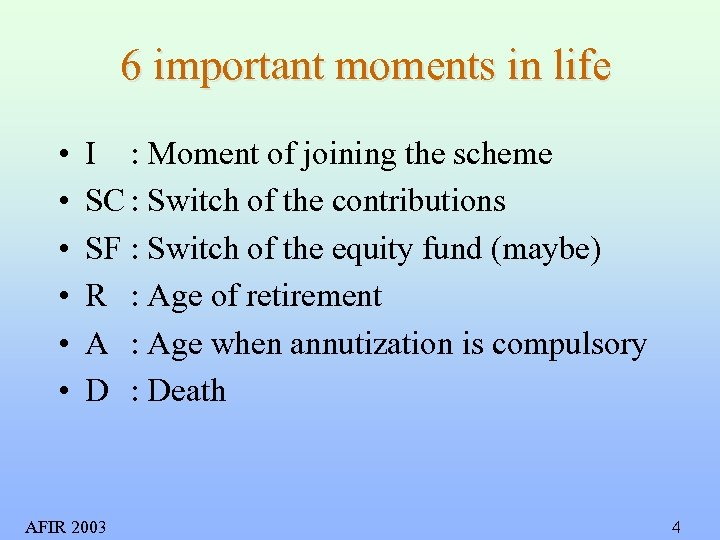 6 important moments in life • • • I : Moment of joining the