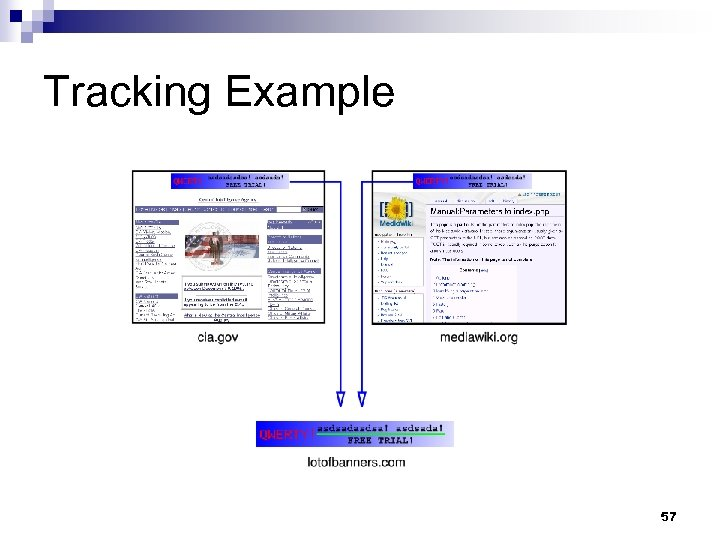 Tracking Example 57