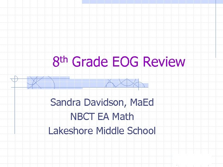 8th grade eog sample items Additional sample selections and items will be posted as copyright permissions are granted for each grade level, there will be one selection per genre posted the genres are fiction, nonfiction, poetry, content, and consumer.