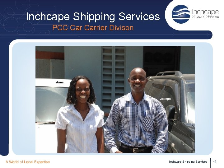 Inchcape Shipping Services PCC Carrier Divison Inchcape Shipping Services 11