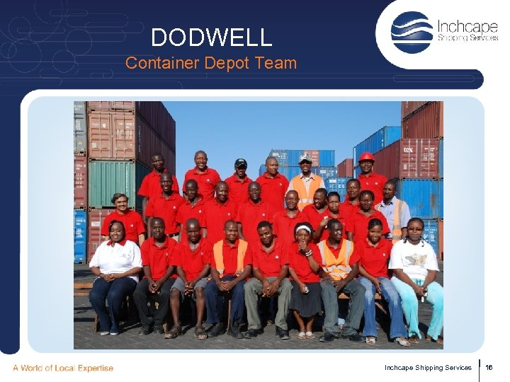 DODWELL Container Depot Team Inchcape Shipping Services 16