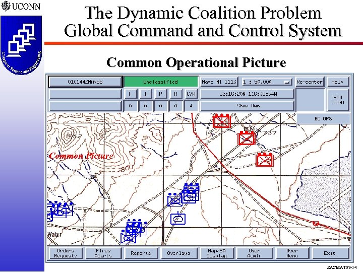 The Dynamic Coalition Problem Global Command Control System Common Operational Picture Common Picture SACMAT