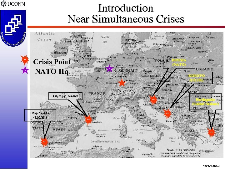 Introduction Near Simultaneous Crises Crisis Point NATO Hq Olympic Games BOSNIA (NATO) KOSOVO (US,