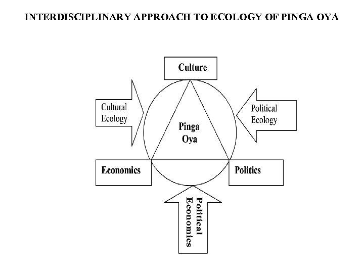INTERDISCIPLINARY APPROACH TO ECOLOGY OF PINGA OYA