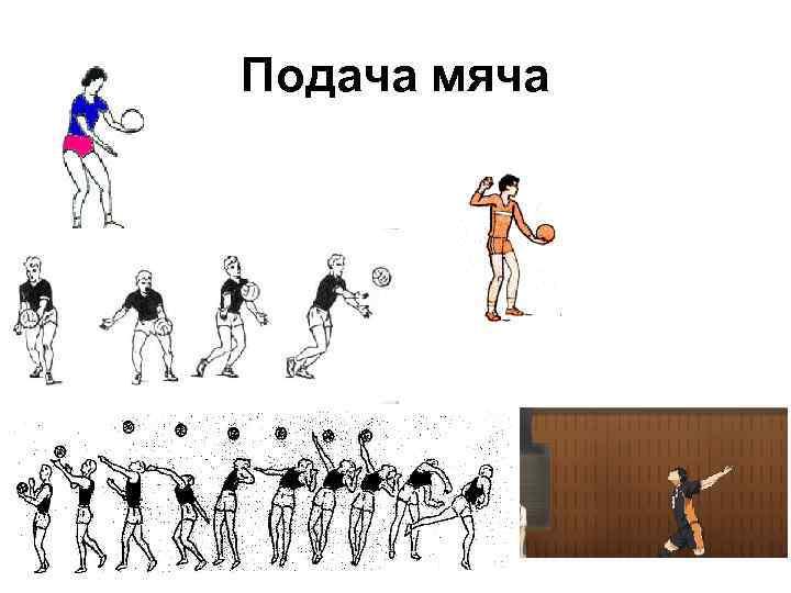 Подача мяча