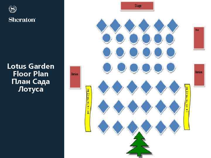 Lotus Garden Floor Plan План Сада Лотуса