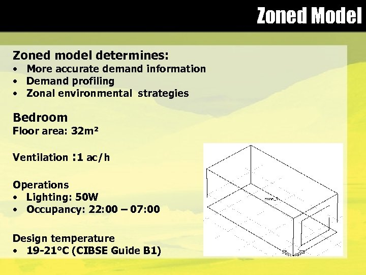 Zoned Model Zoned model determines: • More accurate demand information • Demand profiling •