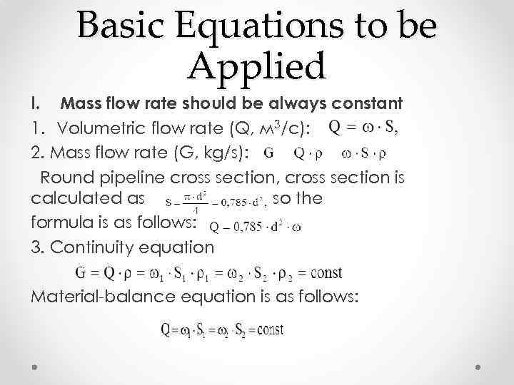 Pipeline Process Calculations Hydraulic Calculations of Pipe