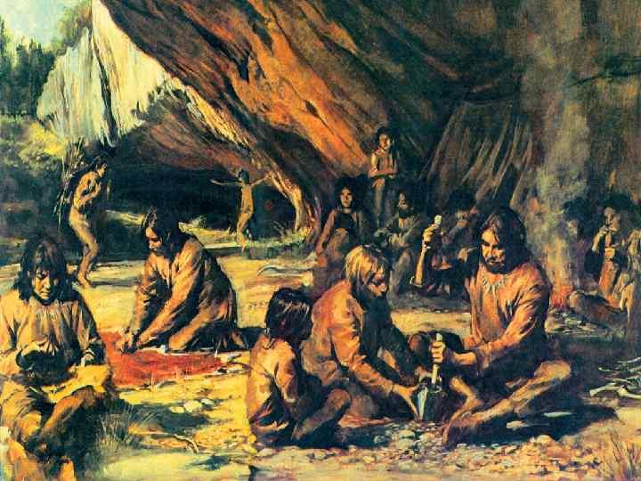 Ең алғашқы адамның пайда болып, дамуындағы кезең – алғашқы қауымдық құрылыстың даму кезеңі болып