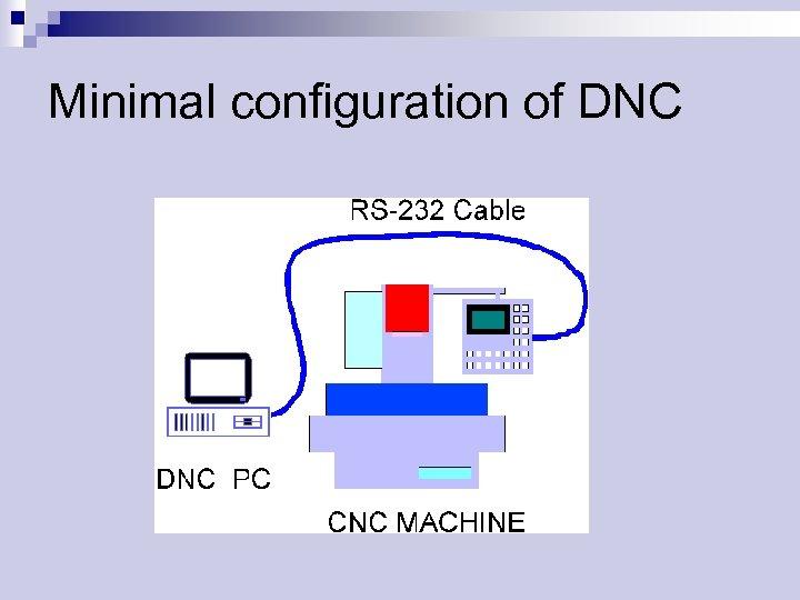 Minimal configuration of DNC