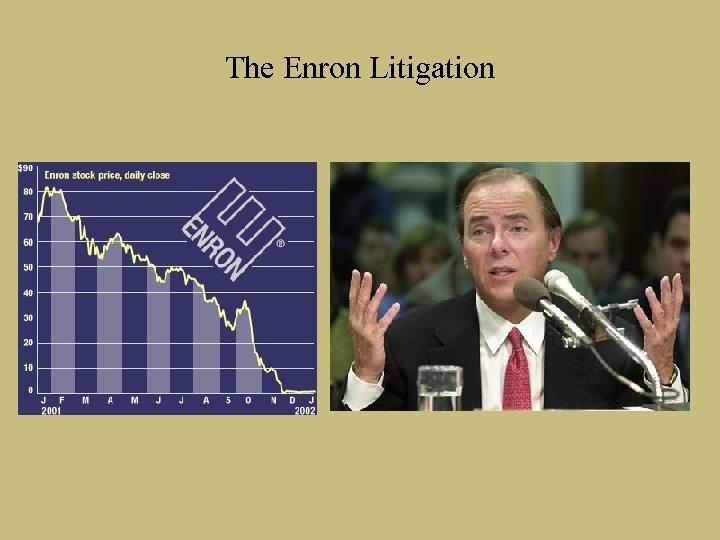 The Enron Litigation