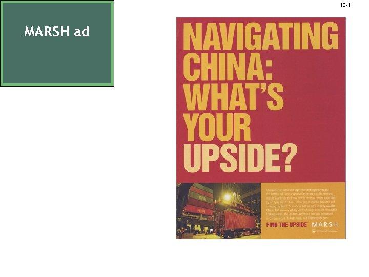 12 -11 MARSH ad