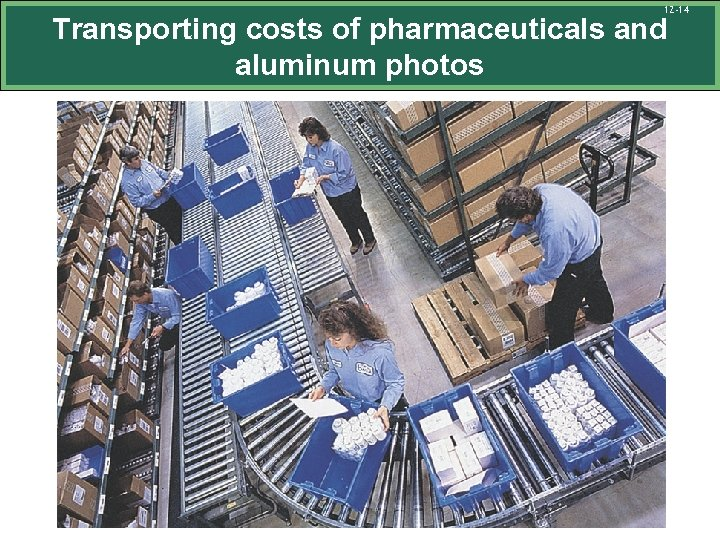 12 -14 Transporting costs of pharmaceuticals and aluminum photos