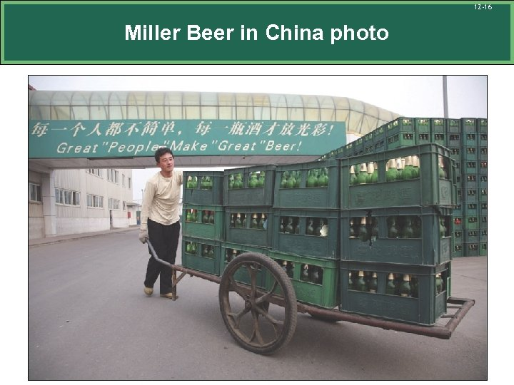 12 -16 Miller Beer in China photo