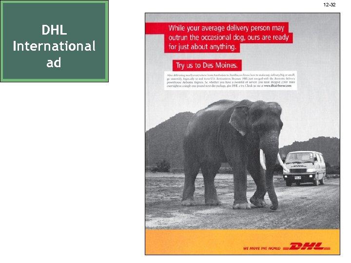 12 -32 DHL International ad