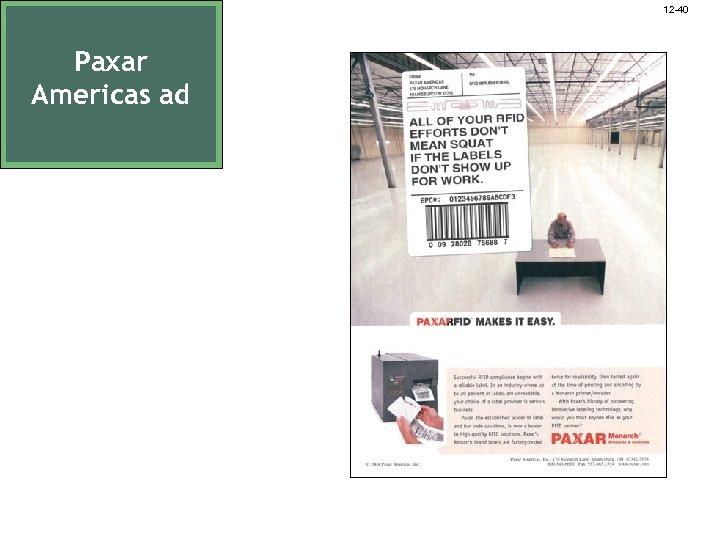 12 -40 Paxar Americas ad