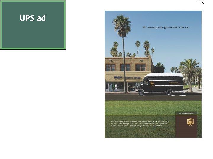 12 -5 UPS ad